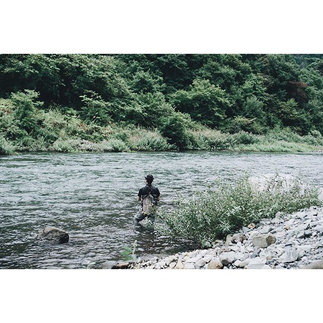 久しぶりの野外活動#釣り #会津 #福島 #fishing #angling #river #aizu #fukushima