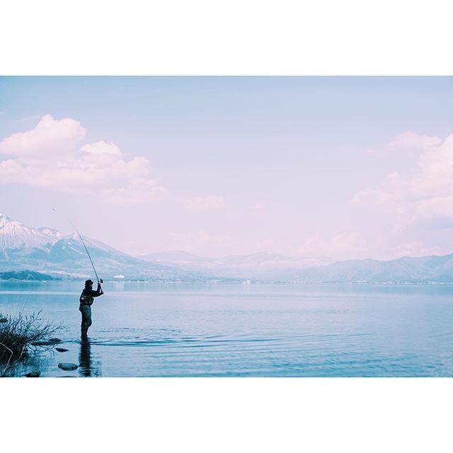 凪#皆様どうか健康で #過去写真 #釣り #猪苗代湖 #会津 #福島 #fishing #lake #aizu #fukushima